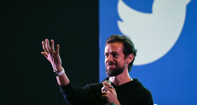 Twitter CEO and co-founder Jack Dorsey gestures while interacting with students at the Indian Institute of Technology (IIT) in New Delhi on November 12, 2018. (AFP Photo)