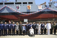 Turkey launches domestically built navy support ship