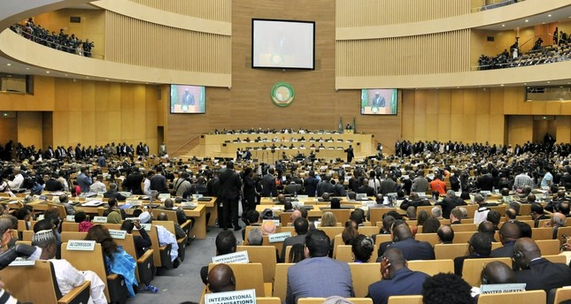 A general view during the 30th Ordinary Session of the Assembly of Heads of State and Government of the African Union, Addis Ababa, Ethiopia, Jan. 28.