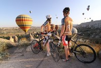 Officials are now preparing for a huge cycling event in the city of Cappadocia, which is included on UNESCO's World Heritage List and one of Turkey's favorite tourist destinations.  The event...