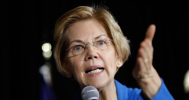 Sen. Elizabeth Warren, D-Mass., speaks to local residents during an organizing event, Sunday, Feb. 10, 2019, in Cedar Rapids, Iowa. (AP Photo)