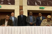 Sudan's military council, pro-democracy movement sign initial political accord