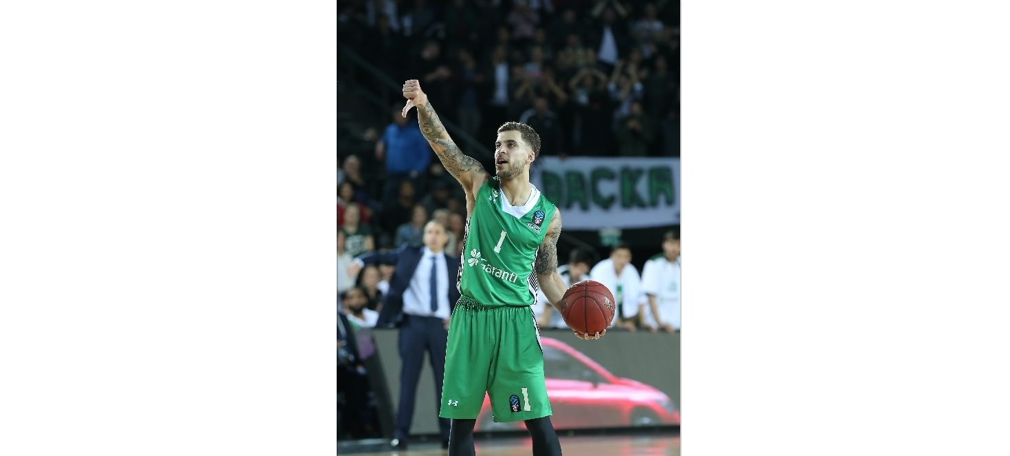 Scottie Wilbekin made 10 3-pt shots on his way to 41 points, breaking EuroCup all-time records in both categories for a non-overtime game. He also dished up 5 assists & made 2 steals for an index rating of 44, third highest ever in a semifinal game.
