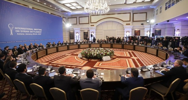 Turkey, Russia and Iran are cooperating as part of the Astana process to bring peace and stability to war-torn Syria.