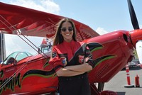 Turkey's first female aerobatic pilot to fly in Romanian aviation festival