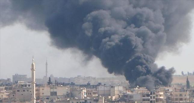 ارتفاع حصيلة الغارات على إدلب السورية إلى 15 قتيلا