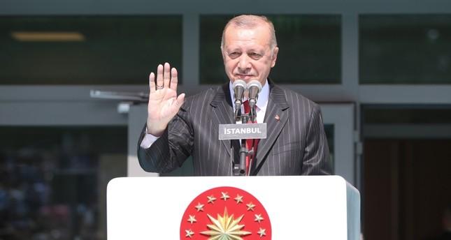 أردوغان: افتتاح مركز إسطنبول المالي مطلع 2022