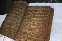 Police find historical leather-bound Bible during road checks in Turkey's Aksaray