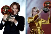Croatia's Luka Modric wins 2018 Ballon d'Or for men, Norway's Hegerberg for women