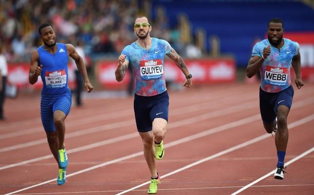World champion Guliyev wins men's 200m in Diamond League