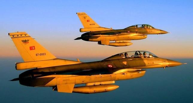 Turkish warplanes neutralize 2 PKK terrorists