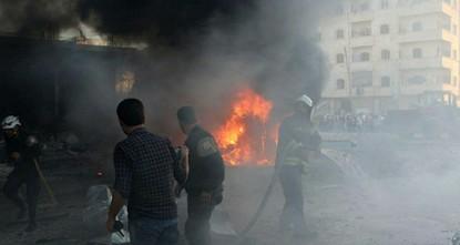 pBei einem Anschlag auf einen Markt im Norden Syriens sind nach Angaben von Aktivisten mindestens zehn Menschen getötet worden./p  pWie die Syrische Beobachtungsstelle für Menschenrechte am...