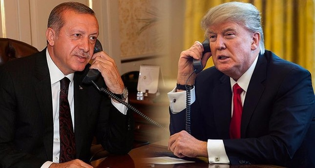 أردوغان وترامب يتفقان على ضرورة تحميل بشار الأسد مسؤولية أفعاله