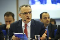 وزير المالية التركي ناجي أغبال