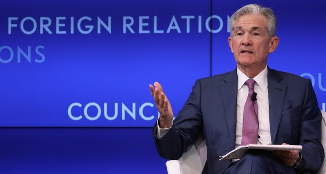 Federal Reserve Chairman Jerome Powell speaks speaks at C. Peter McColough Series on International Economics: A Conversation with Jerome H. Powell at the Council on Foreign Relations in New York, U.S., June 25, 2019. (Reuters Photo)