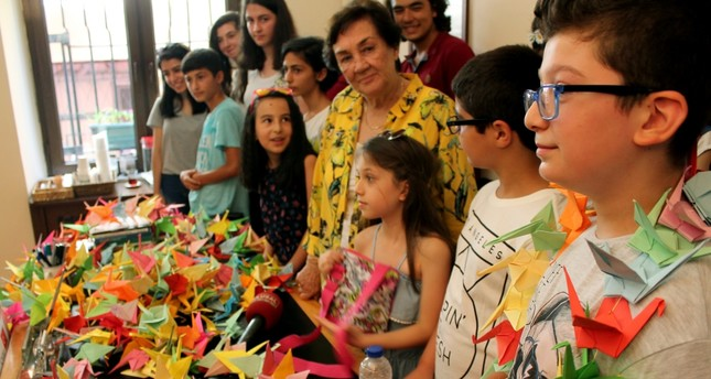 Turkish children send origami cranes to Hiroshima in name of peace