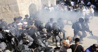 Israel greift Muslime bei Al-Aqsa-Moschee an