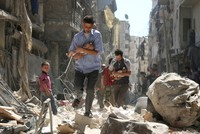 '100,000 babies a year killed by war'