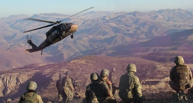 Mindestens 12 PKK-Terroristen im Nordirak getötet