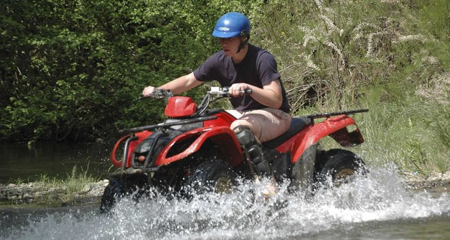 Ride off the beaten track on quad bikes in Turkey
