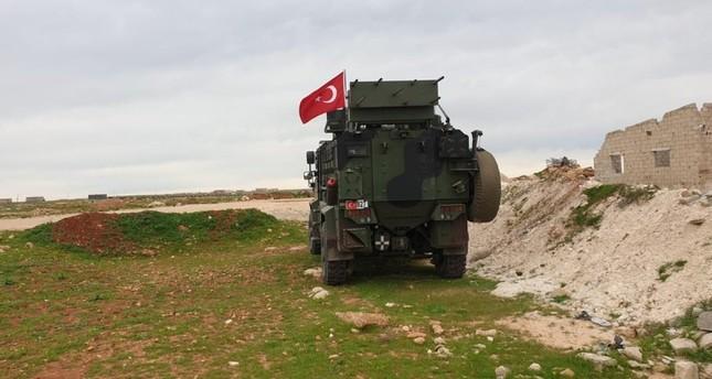 استشهاد عسكري تركي بنيران أطلقها إرهابيو ي ب ك من تل رفعت