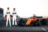 Alonso excited as McLaren unveil new F1 car