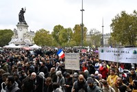 French people march against Islamophobia amid rising hateful rhetoric from politicians