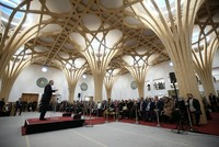 Erdoğan inaugurates landmark eco-friendly mosque in Britain
