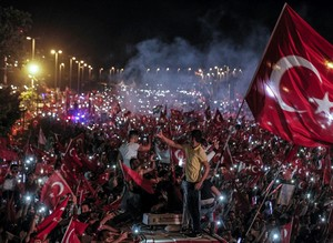 Millions flock to July 15 Martyrs' Bridge in Istanbul