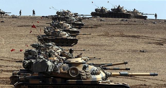 المدفعية التركية مهدت فك حصار داعش لمدينة مارع وقتلت 18 من التنظيم