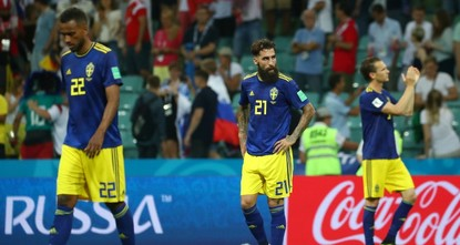 Turkish origin Sweden player target of racist attacks after Germany foul