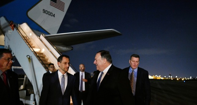 Pompeo makes unscheduled trip to Baghdad, meets Iraqi PM