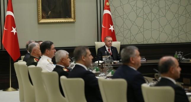 Turkey to strengthen efforts for Syria safe zone, MGK statement says