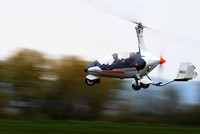 Czech pilot Pavel Brezina, the engineer and owner of Nirvana Systems, a company producing motors for small flying machines, has made a