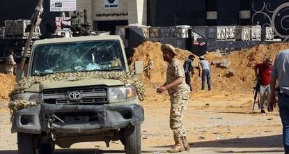 تجدد الاشتباكات بين القوات الحكومية الليبية وميليشيات حفتر جنوبي طرابلس