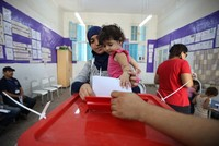 Independent Saied leads first round of Tunisia's presidential election