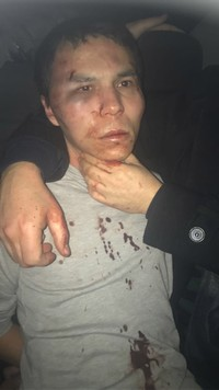 Masharipov's image right after he was captured.