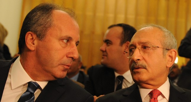 The poor results in the June 24 elections inflamed a bitter feud within the CHP administration, with the party's presidential candidate Muharrem İnce openly challenging current party  Chairman Kemal Kılıçdaroğlu.