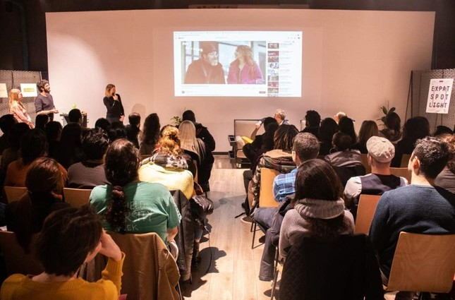 The innovative Expat Spotlight talk series focuses on expat involvement in Turkey's TV and film industry.