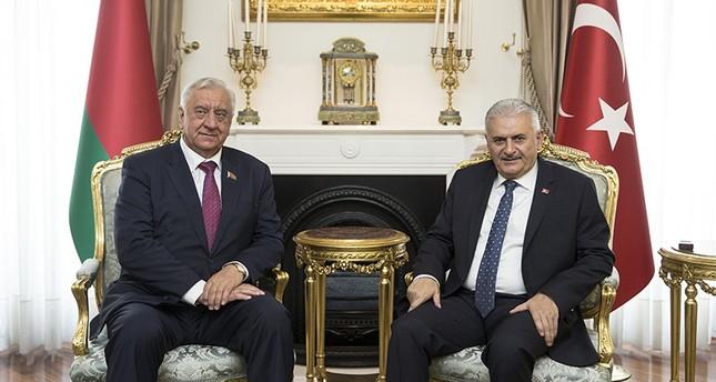 يلدريم: عازمون على تعزيز التعاون في كافة المجالات مع بيلاروسيا