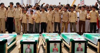 US supplied bomb that killed 40 children in Yemen, CNN reports