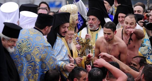 Orthodox community in Turkey marks Epiphany