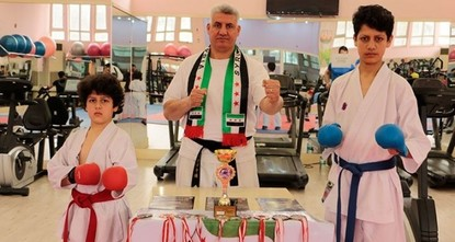 Ahmed Jalil al-Ali, an international karate referee and coach who took refuge in Turkey with his family due to the ongoing civil war in Syria, is now attempting to train new athletes in the...