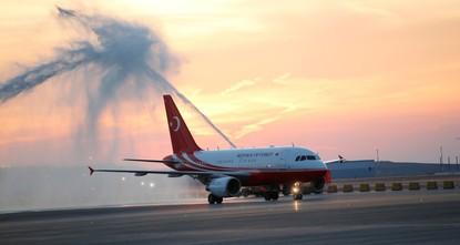 Эрдоган первым приземлился в новом аэропорту Стамбула