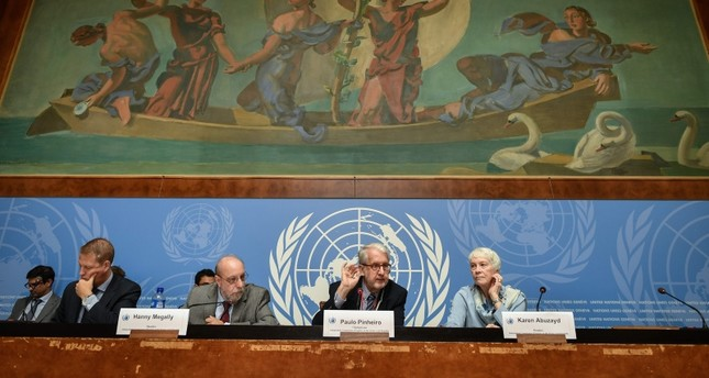 UN links US, YPG, Assad regime, Russia to war crimes in Syria
