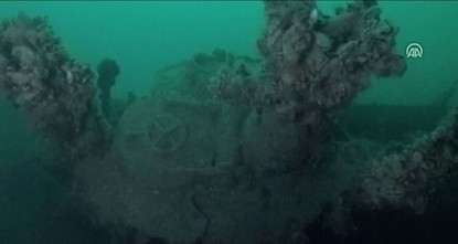 U-23 sub from Hitler's 'lost fleet' found in Black Sea
