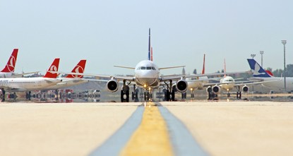 pWith a staggering 14 percent growth rate in the last decade, Turkey's air transport sector has become the world's fastest growing aviation industry, according to the General Directorate of Civil...