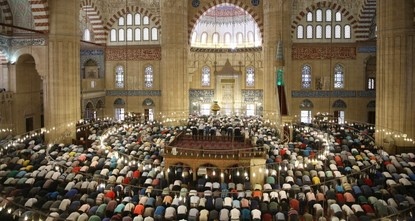 Muslims across the world celebrate Qurban Bayram