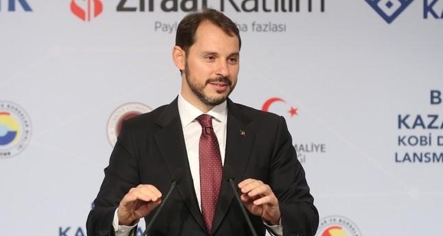 وزير الخزانة والمالية التركي: سنواصل اتخاذ الخطوات اللازمة لتعزيز الليرة