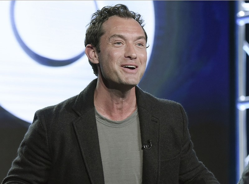 In this Jan. 14, 2017 file photo, Jude Law attends the ,The Young Pope, panel at the HBO portion of the 2017 Winter Television Critics Association press tour in Pasadena, Calif. (AP Photo)